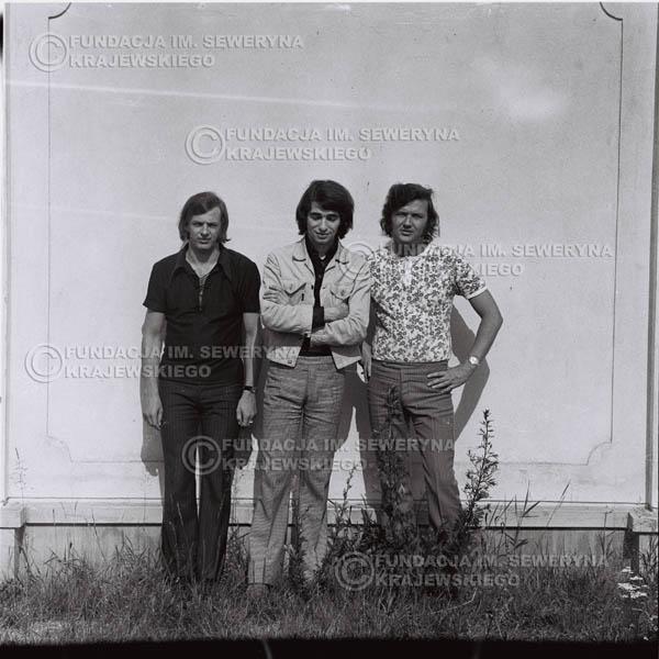 # 1015 - Czerwone Gitary 1970r. w składzie: Seweryn Krajewski, Bernaed Dornowski, Jerzy Skrzypczyk.