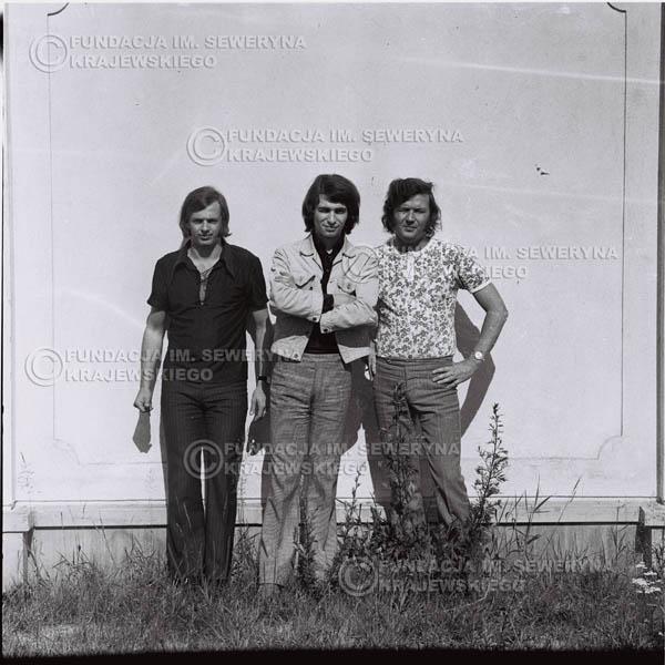 # 1016 - Czerwone Gitary 1970r. w składzie: Seweryn Krajewski, Bernaed Dornowski, Jerzy Skrzypczyk.