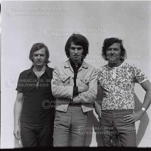 # 1018 - Czerwone Gitary 1970r. w składzie: Seweryn Krajewski, Bernaed Dornowski, Jerzy Skrzypczyk.