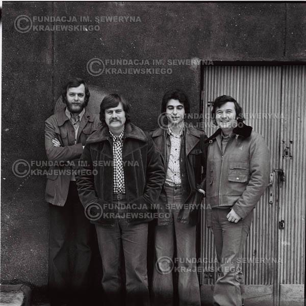# 1073 - 1975r. od lewej: Jerzy Skrzypczyk, Ryszard Kaczmarek, Seweryn Krajewski, Bernard Dornowski