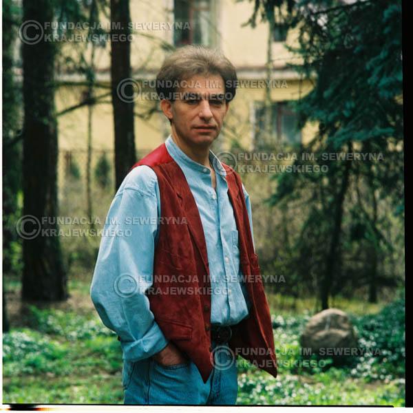 # 1192 - 1991r. sesja zdjęciowa w Michalinie, Seweryn Krajewski