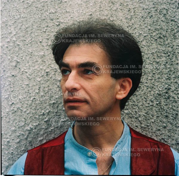 # 1197 - 1991r. sesja zdjęciowa w Michalinie, Seweryn Krajewski