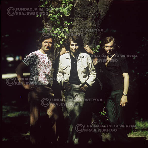 # 1212 - zespół Czerwone Gitary po odejściu Krzysztofa Klenczona, 1970r. Od lewej: Bernard Dornowski, Seweryn Krajewski, Jerzy Skrzypczyk.