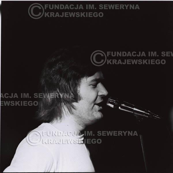 # 1274 - 1973r. Bernard Dornowski - koncert Czerwonych Gitar w Teatrze Polskim we Wrocławiu.