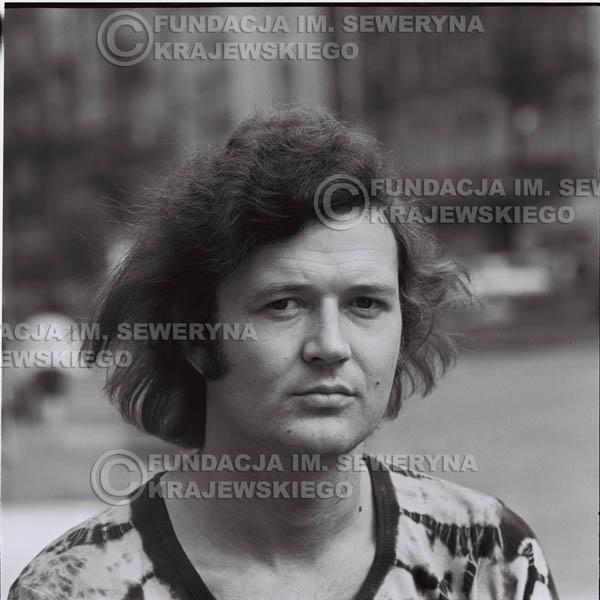 # 1279 - Bernard Dornowski, 1973r na starówce w Poznaniu.