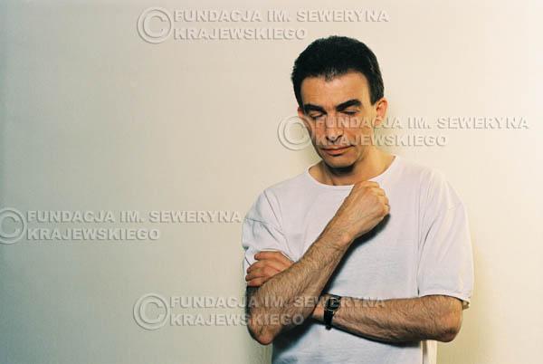 # 12 - Leszek Fidusiewicz. Sesja do okładki 'Strofki na gitarę (2)' - 1993 r.