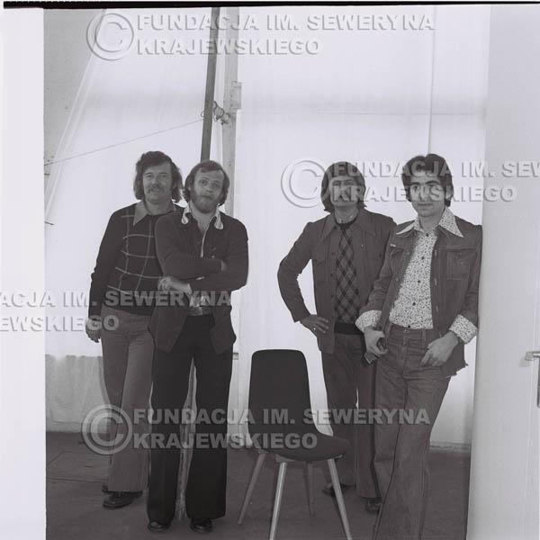 # 1358 - Czerwone Gitary od lewej: Bernard Dornowski, Jerzy Skrzypczyk, Ryszard Kaczmarek, Seweryn Krajewski.