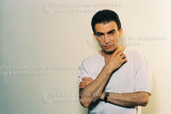 # 13 - Leszek Fidusiewicz. Sesja do okładki 'Strofki na gitarę (2)' - 1993 r.