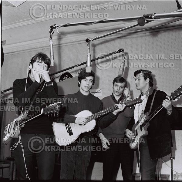 # 140 - Czerwone Gitary 1967r., nagranie do trzeciej płyty, gdańskie radio Wrzeszcz