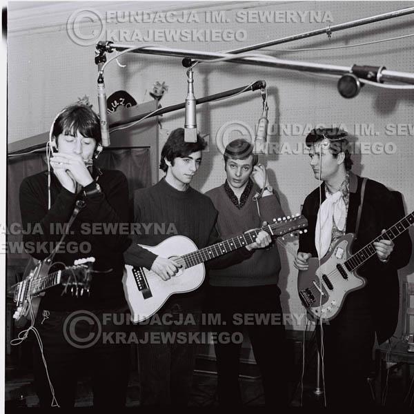 # 141 - Czerwone Gitary 1967r., nagranie do trzeciej płyty, gdańskie radio Wrzeszcz