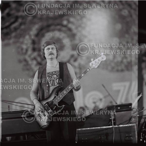 # 1597 - Ryszard Kaczmarek, 1976r. Krajowy Festiwal Piosenki Polskiej w Opolu.
