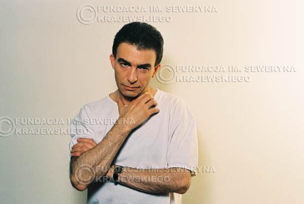 # 15 - Leszek Fidusiewicz. Sesja do okładki 'Strofki na gitarę (2)' - 1993 r.