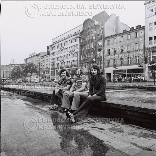# 1607 - 1973r. sesja w Poznaniu. Bernard Dornowski, Seweryn Krajewski, Jerzy Skrzypczyk.