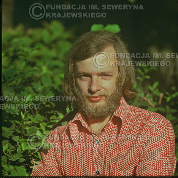 # 1621 - Jerzy Skrzypczyk - 1974r. sesja zdjęciowa w Sanoku.
