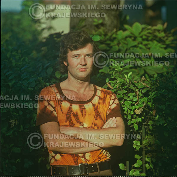 # 1623 - Bernard Dornowski - 1974r. sesja zdjęciowa w Sanoku.