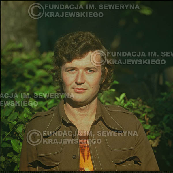 # 1631 - Bernard Dornowski - 1974r. sesja zdjęciowa w Sanoku.
