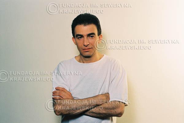 # 17 - Leszek Fidusiewicz. Sesja do okładki 'Strofki na gitarę (2)' - 1993 r.