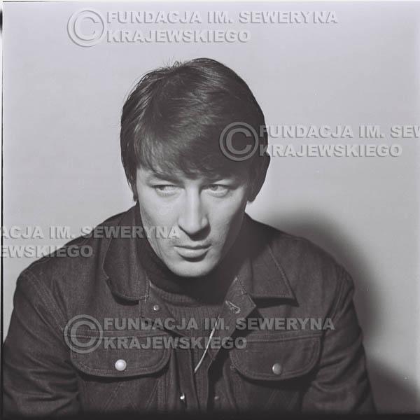 # 189 - 1967r. Krzysztof Klenczon sesja zdjęciowa do płyty pt: 'Czerwone Gitary 3'