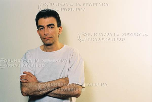 # 19 - Leszek Fidusiewicz. Sesja do okładki 'Strofki na gitarę (2)' - 1993 r.