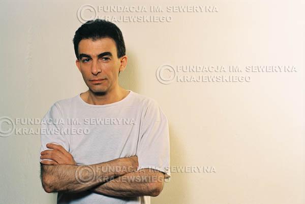 # 20 - Leszek Fidusiewicz. Sesja do okładki 'Strofki na gitarę (2)' - 1993 r.