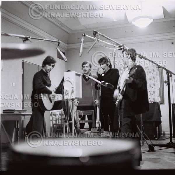 # 253 - Czerwone Gitary 1967r., nagranie do trzeciej płyty, gdańskie radio Wrzeszcz