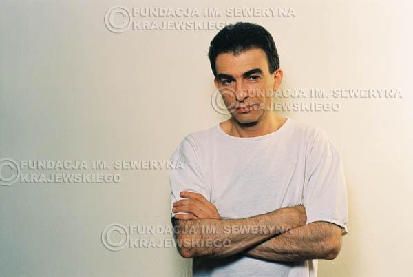 # 27 - Leszek Fidusiewicz. Sesja do okładki 'Strofki na gitarę (2)' - 1993 r.
