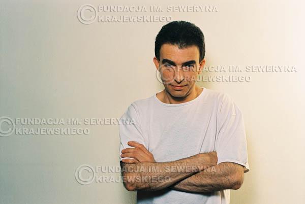 # 28 - Leszek Fidusiewicz. Sesja do okładki 'Strofki na gitarę (2)' - 1993 r.