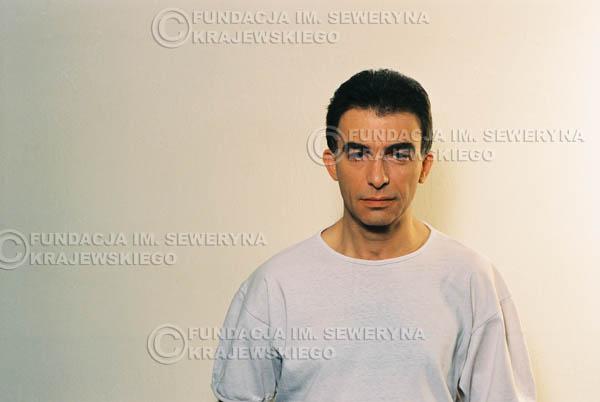 # 30 - Leszek Fidusiewicz. Sesja do okładki 'Strofki na gitarę (2)' - 1993 r.