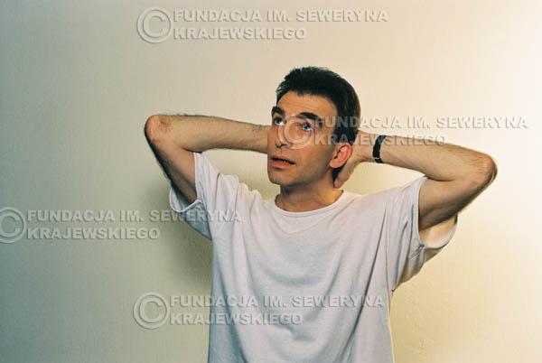 # 32 - Leszek Fidusiewicz. Sesja do okładki 'Strofki na gitarę (2)' - 1993 r.