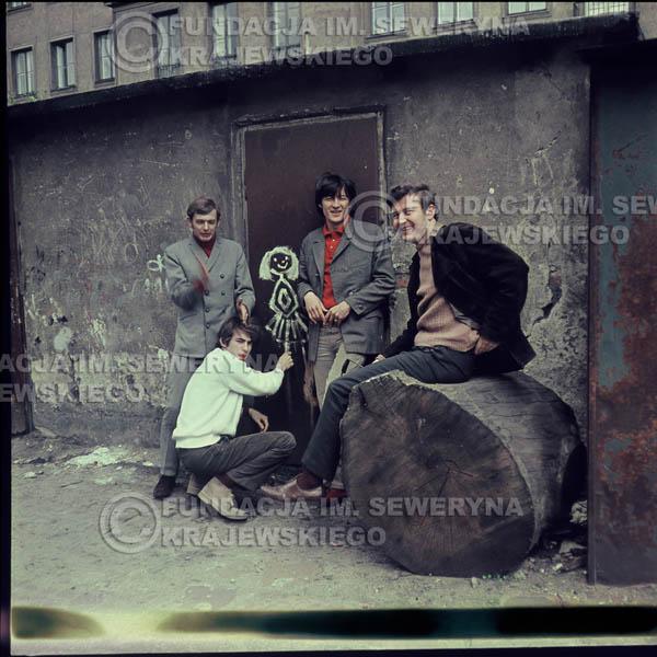 # 339 - Czerwone Gitary, Łódź, sesja do płyty pt: 'Czerwone Gitary 3' 1967r