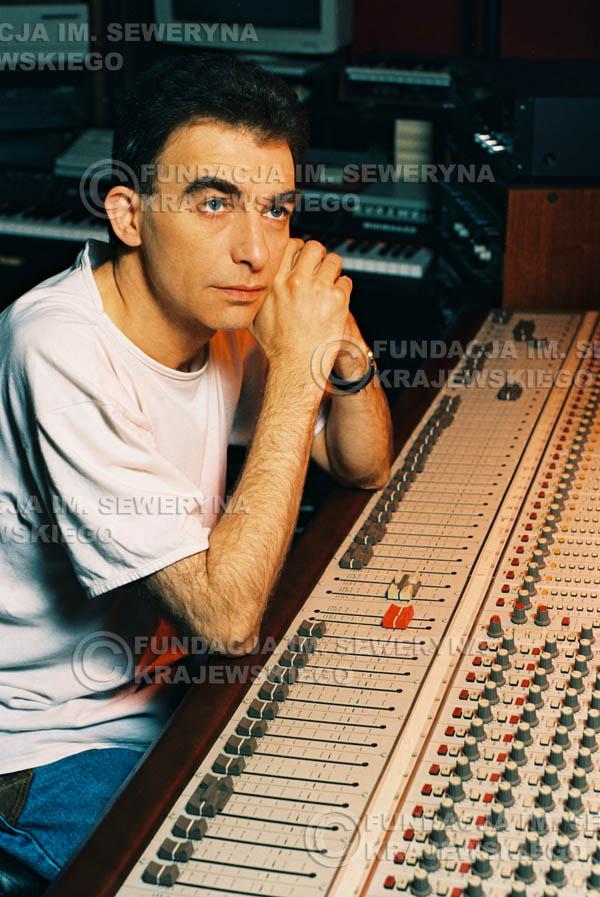 # 34 - Leszek Fidusiewicz. Sesja do okładki 'Strofki na gitarę (2)' - 1993 r.