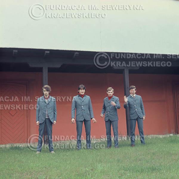 # 352 - Łódź, Czerwone Gitary, sesja zdjęciowa do płyty pt: 'Czerwone Gitary 3' 1967r
