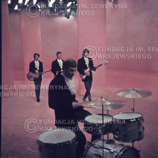 # 365 - Czerwone Gitary 1967r, telewizja w Warszawie, promocja trzeciej płyty