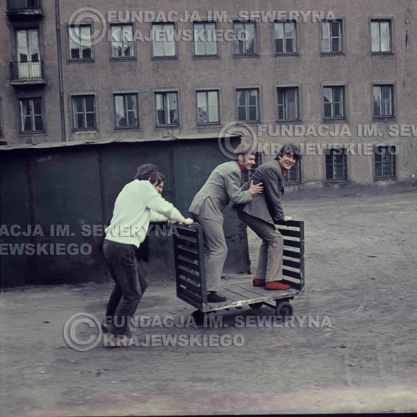 # 375 - Czerwone Gitary, Łódź, sesja zdjęciowa do płyty pt: 'Czerwone Gitary 3' 1967r