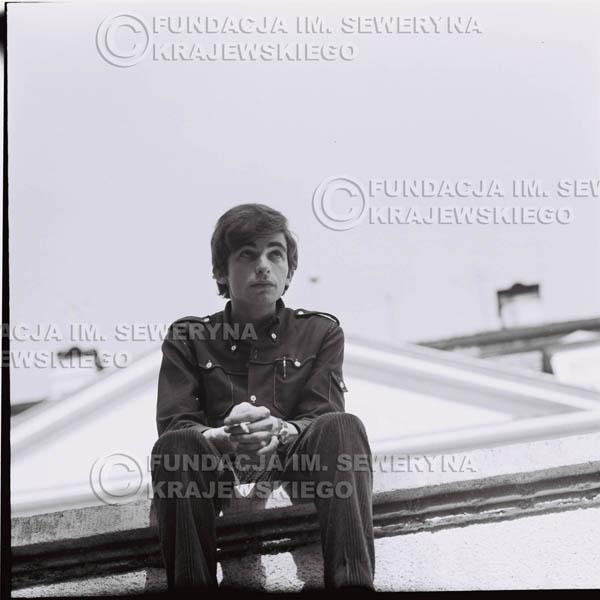 # 405 - Seweryn Krajewski, 1967r. sesja w Sopocie (zdjęcia dla fanów do autografów)