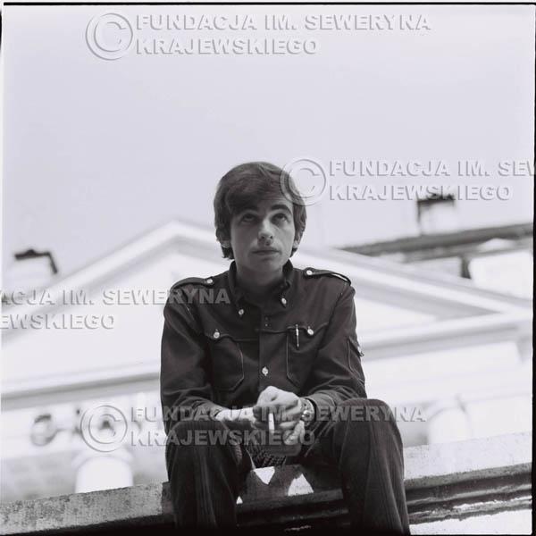 # 406 - Seweryn Krajewski, 1967r. sesja w Sopocie (zdjęcia dla fanów do autografów)