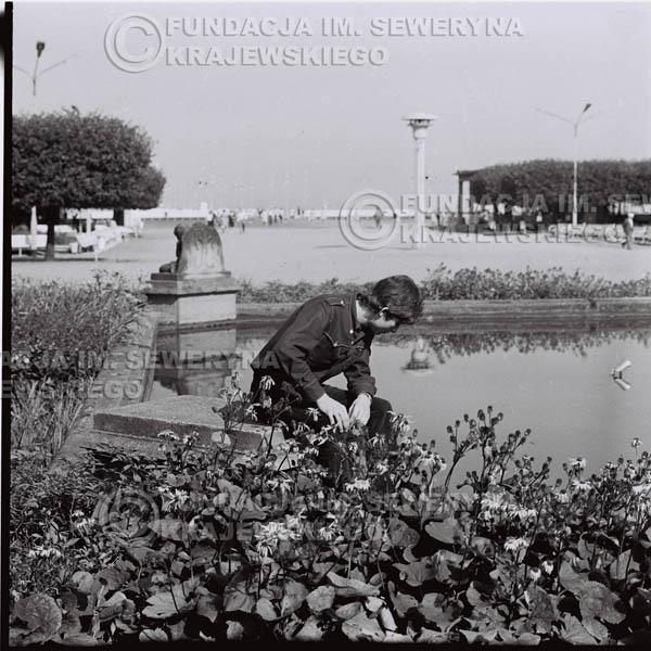 # 407 - Seweryn Krajewski, 1967r. sesja w Sopocie (zdjęcia dla fanów do autografów)