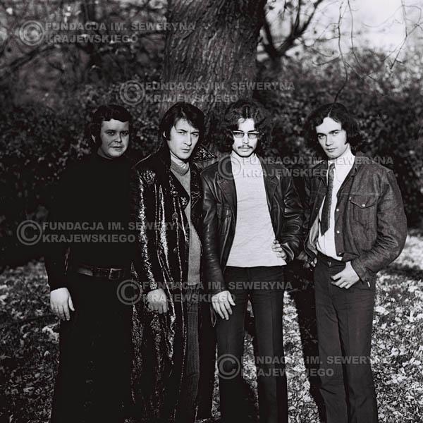 # 500 - 'Trzy Korony' 1970r. W składzie: od lewej: Ryszard Klenczon , Krzysztof Klenczon, Grzegorz Andrian i Piotr Stajkowski