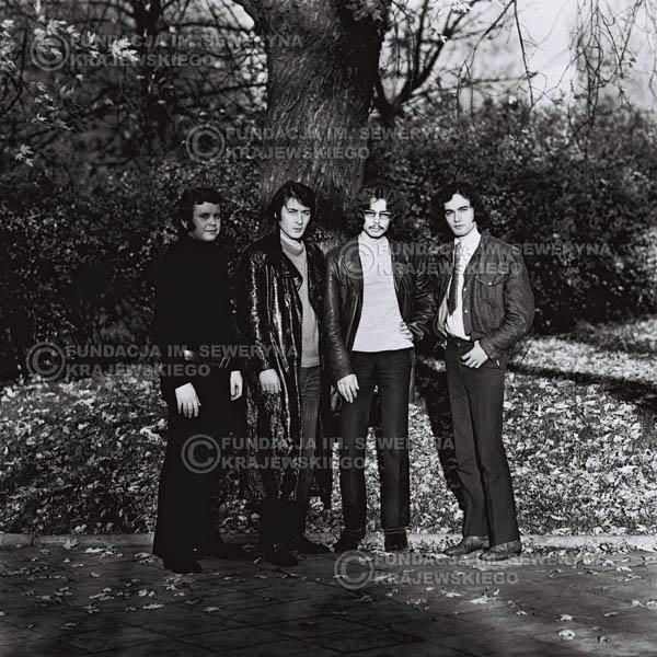 # 501 - 'Trzy Korony' 1970r. W składzie: od lewej: Ryszard Klenczon , Krzysztof Klenczon, Grzegorz Andrian i Piotr Stajkowski