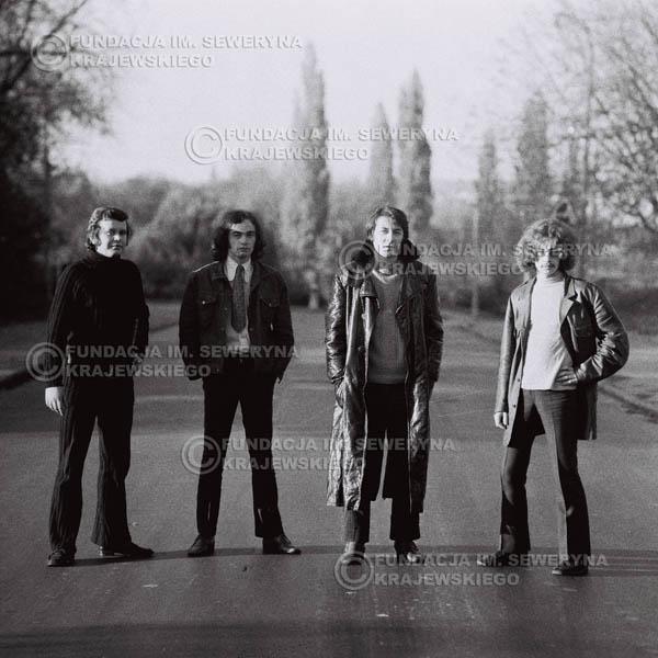 # 503 - 'Trzy Korony' 1970r - Od lewej:  Ryszard Klenczon, Piotr Stajkowski, Krzysztof Klenczon, Grzegorz Andrian