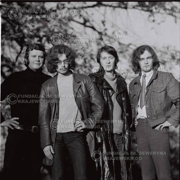 # 508 - 'Trzy Korony' 1970r - Od lewej: Ryszard Klenczon, Grzegorz Andrian Krzysztof Klenczon, Piotr Stajkowski