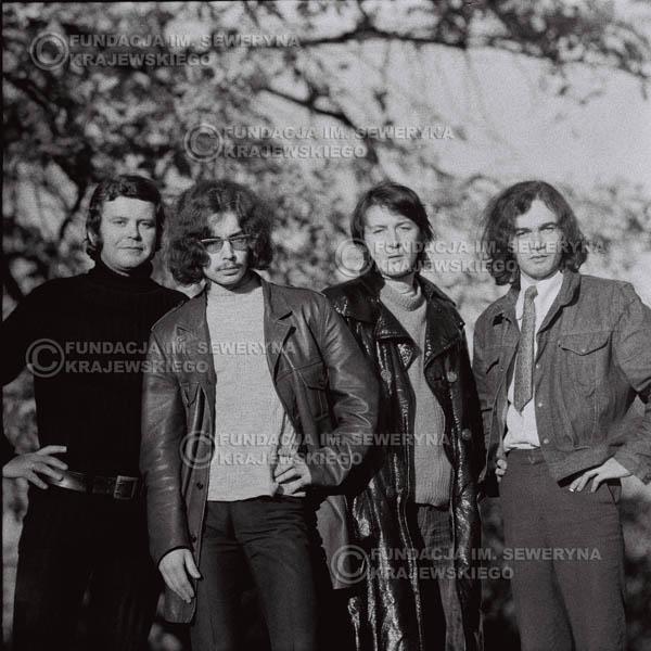 # 509 - 'Trzy Korony' 1970r - Od lewej: Ryszard Klenczon, Grzegorz Andrian Krzysztof Klenczon, Piotr Stajkowski