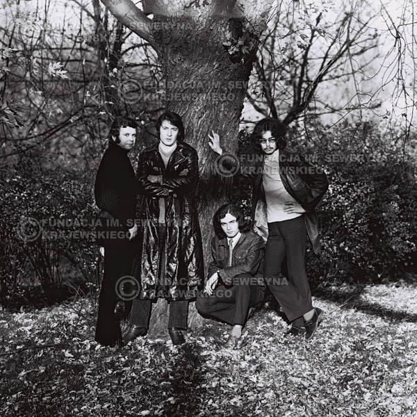 # 515 - 'Trzy Korony' 1970r - Od lewej: Ryszard Klenczon, Krzysztof Klenczon, Piotr Stajkowski,  Grzegorz Andrian.