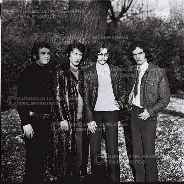 # 516 - 'Trzy Korony' 1970r - Od lewej:  Ryszard Klenczon, Krzysztof Klenczon, Grzegorz Andrian i Piotr Stajkowski.