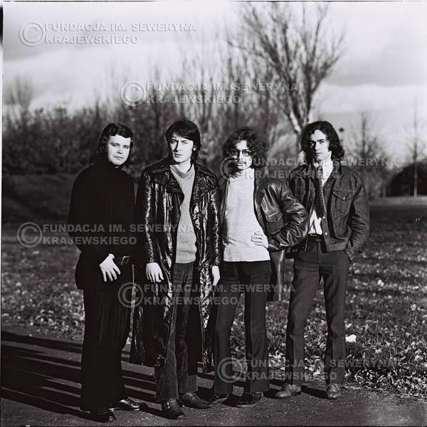 # 522 - 'Trzy Korony' 1970r. - Od lewej:  Ryszard Klenczon, Krzysztof Klenczon, Grzegorz Andrian i Piotr Stajkowski.