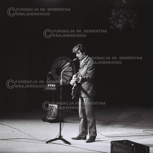# 527 - 1968r. kwiecień,  Musicorama (powstała z inicjatywy Franciszka Walickiego) Sala Kongresowa w Pałacu Kultury i Nauki w Warszawie - Seweryn Krajewski.