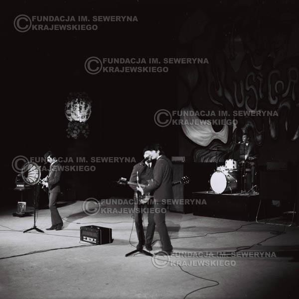 # 531 - 1968r kwiecień,  Musicorama (powstała z inicjatywy Franciszka Walickiego) Sala Kongresowa w Pałacu Kultury i Nauki w Warszawie - Czerwone Gitary.