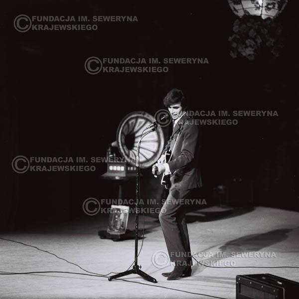 # 533 - 1968r. kwiecień,  Musicorama (powstała z inicjatywy Franciszka Walickiego) Sala Kongresowa w Pałacu Kultury i Nauki w Warszawie - Seweryn Krajewski.
