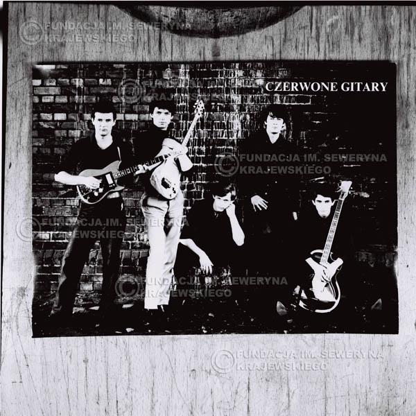 # 753 - Czerwone Gitary. Od lewej: Bernard Dornowski, Jerzy Kosela, Jerzy Skrzypczyk, Krzysztof Klenczon , Seweryn Krajewski
