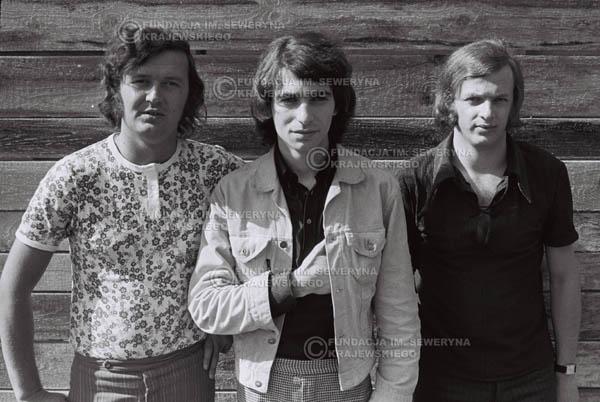 # 757 - 1970r. Warszawa, Czerwone Gitary w składzie: Seweryn Krajewski, Bernard Dornowski, Jerzy Skrzypczyk